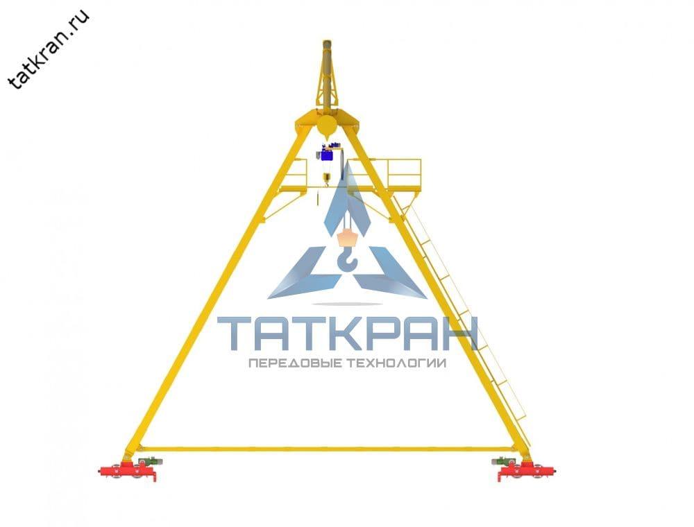 Кран козловой электрический однобалочный трубчатый (ККТ)