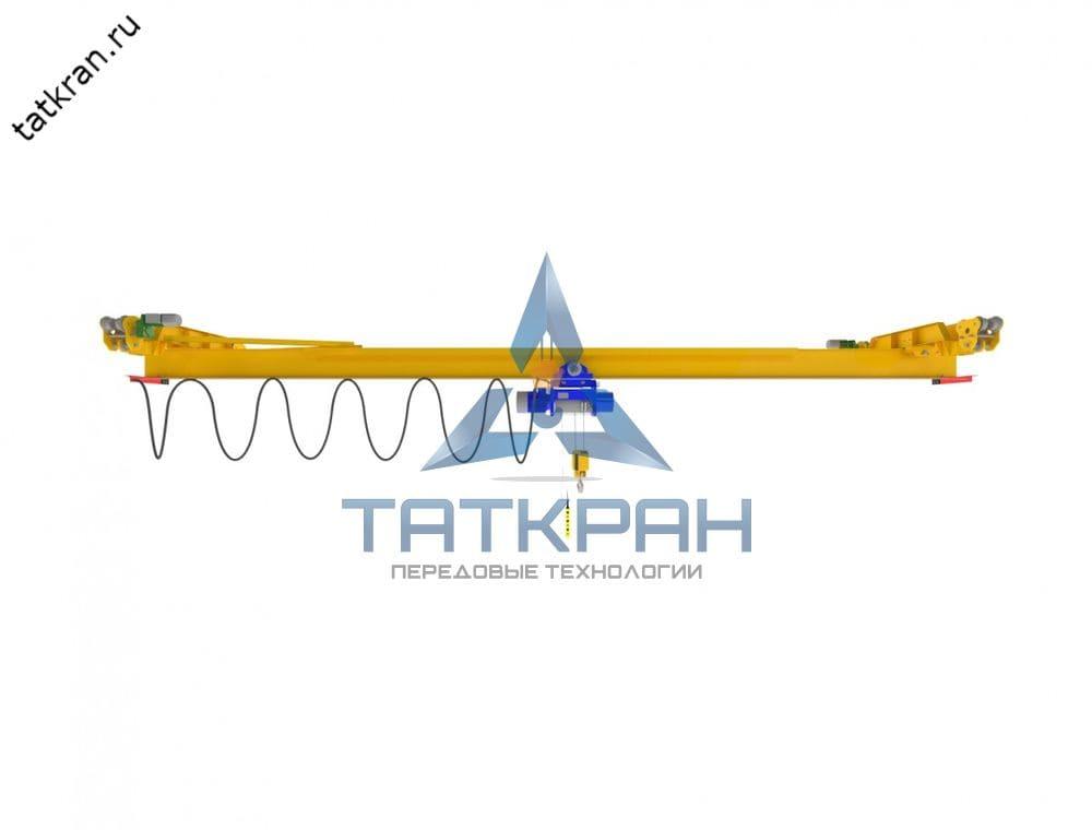 Кран мостовой электрический подвесной однобалочный (кран-балка подвесная)