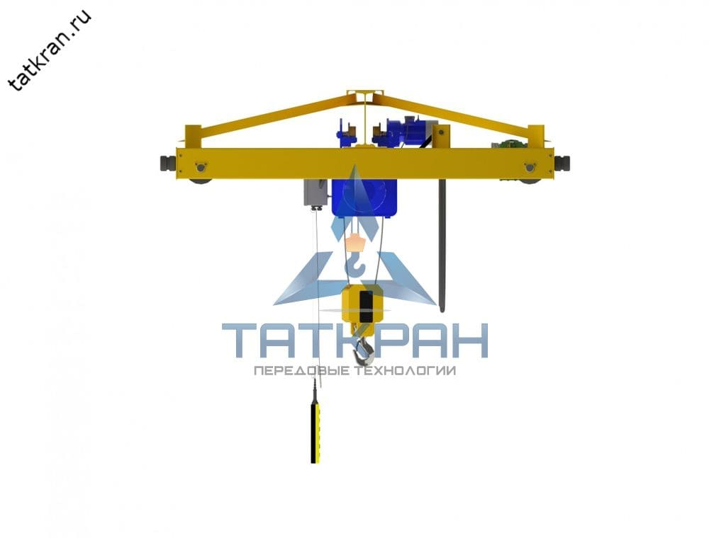 Кран мостовой электрический опорный однобалочный (кран-балка опорная)